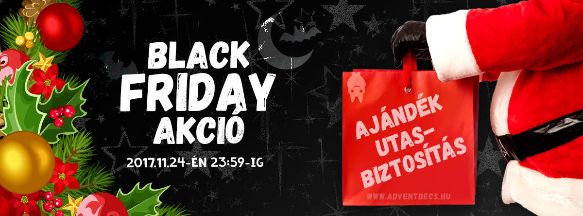 Black Friday Akció